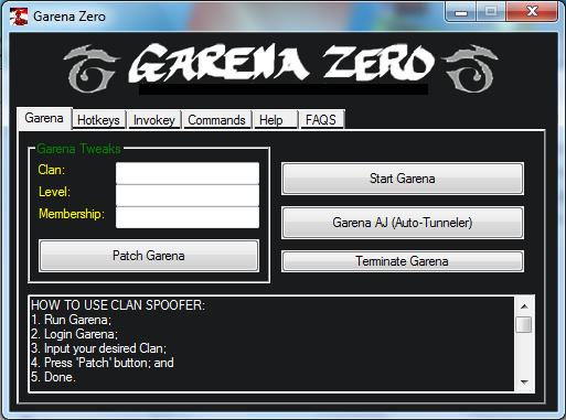 Garena Zero новая версия 5.00